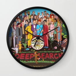 Wes Anderson's Sgt. Pepper Wall Clock