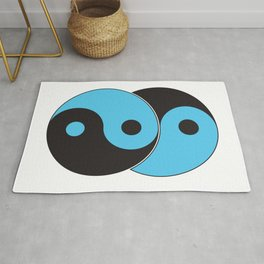 Reflections of Yin and Yang Rug