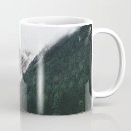 Smokey Foggy Scenery Mountain View Coffee Mug