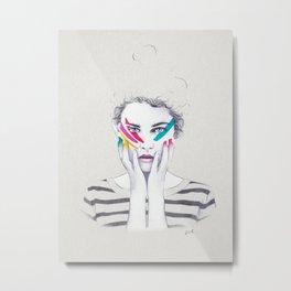 War Paint Ramona Metal Print