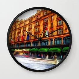 Harrods, London Wall Clock