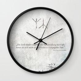 The Distress Wall Clock