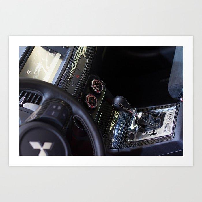 Mitsubishi Lancer Evolution X Exchange Art Print
