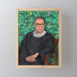 Ruth Bader Ginsburg  Framed Mini Art Print