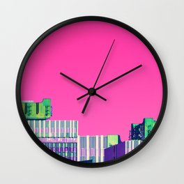 Centrotex all over the place Wall Clock