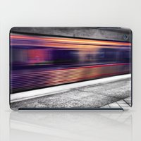 subway iPad Cases featuring Subway by Yancey Wells