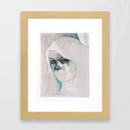 NaNoDrawMo 2012 - 17 Framed Art Print