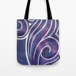 Painting On Stars Tote Bag