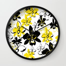 Floral Essence Collection Wall Clock