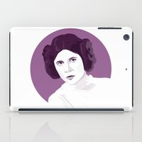 leia iPad Cases featuring Leia by zaiure