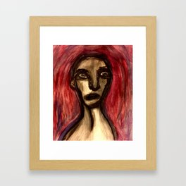 And the Memory was Marred. Framed Art Print