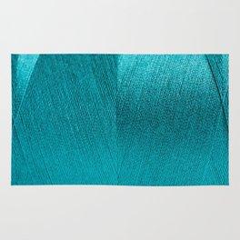 blue string Rug