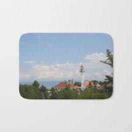 Whitefish Point Lighthouse - Lake Superior Bath Mat