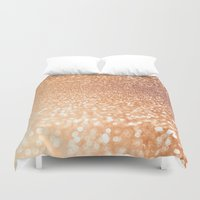 bisexual Duvet Covers featuring The late Sunset by Better HOME