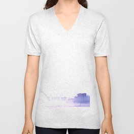 Ghost city Unisex V-Neck