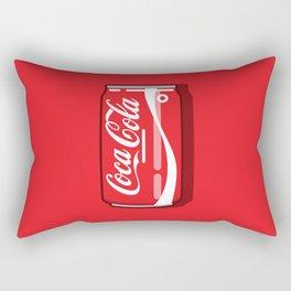 Coca cola - Classic can Rectangular Pillow