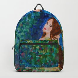 You paint my entire world Backpack