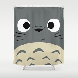 Dubiously Troll Shower Curtain