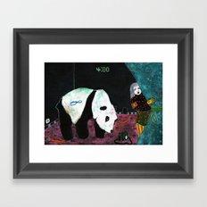 4h00 Framed Art Print