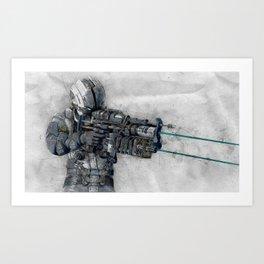 Dead Space 5 Art Print