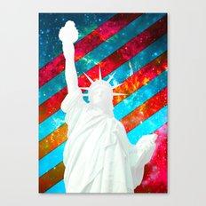 Liberty Pop Art Canvas Print