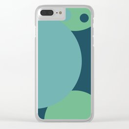 Shy Away Clear iPhone Case