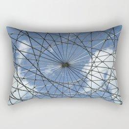 Caged Sky Rectangular Pillow