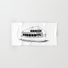 Old Ferry Boat Hand & Bath Towel