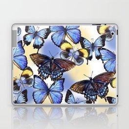 Pattern with butterflies Laptop & iPad Skin