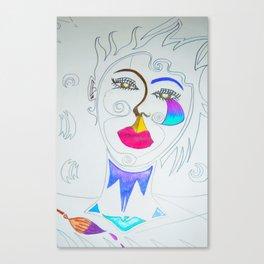 The stylist Canvas Print