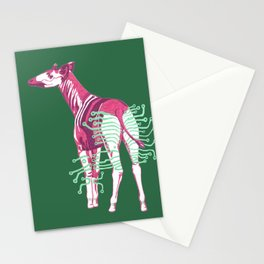 Okapi, Ready to Charge 3 Stationery Cards