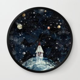 to boldly go Wall Clock
