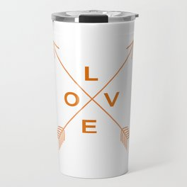 Love Arrow Travel Mug