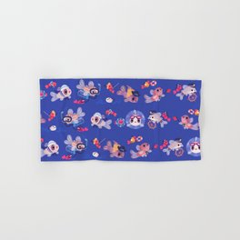 Cory cats on voyage Hand & Bath Towel