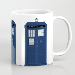 Doctor Who's Tardis Coffee Mug