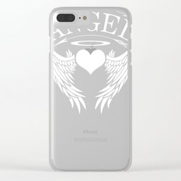 Angel Gift Heaven Cheru Heaven Messenger Clear iPhone Case