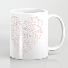 Penis Heart Mug