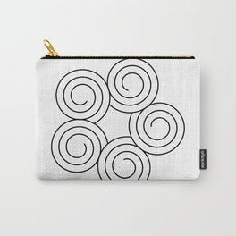 Spirals Carry-All Pouch
