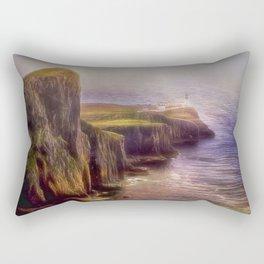 The Cliffs of Skye Rectangular Pillow