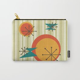 Retro Stripes & Shapes Carry-All Pouch