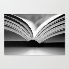 Open Book Canvas Print