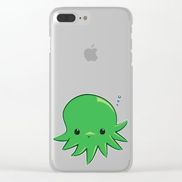 Octopie Clear iPhone Case