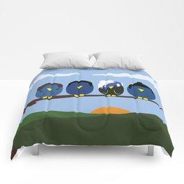 Marianas Trench o' Birds Comforters