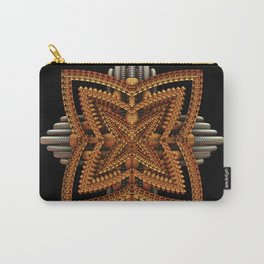 Art Deco Brooch Carry-All Pouch