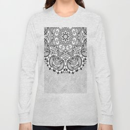 Mandala BW Long Sleeve T-shirt