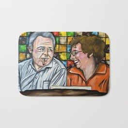 Archie & Edith Bunker  Bath Mat