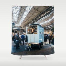 Old Spitalfields Market in London Shower Curtain