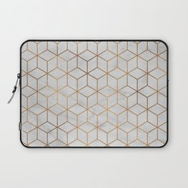 Marbled Copper Cubes Laptop Sleeve