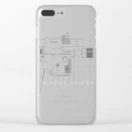 Blaster Build Gr Clear iPhone Case