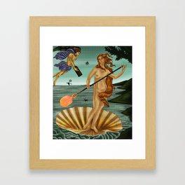 Gafferdite - Composition Framed Art Print
